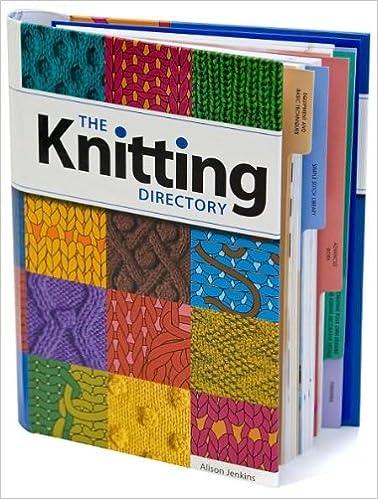 Knitting Directory Alison Jenkins 9781840137286 Amazon Com Books