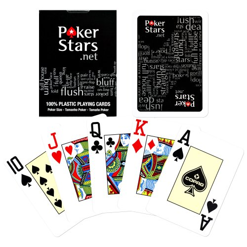 Copag Poker Stars Jumbo Index Playing Cards, ()
