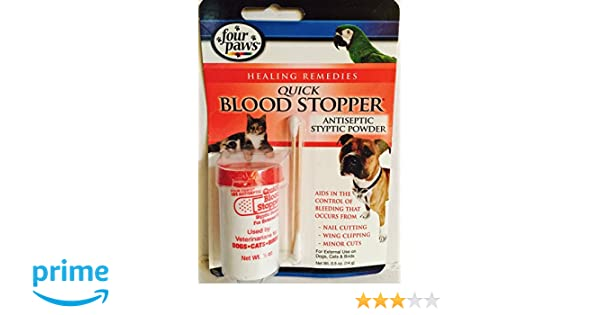 1f3be6622f54 FOUR PAWS QUICK STOP BLOOD STOPPER ANTISEPTIC STYPTIC POWDER FOR DOGS,  CATS, BIRDS, SMALL MAMMALS