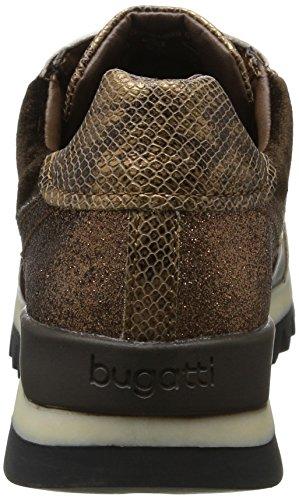 Donna Marrone Brown Sneaker 6160 Brown Dark 422276015069 Bugatti twPgxEqCx