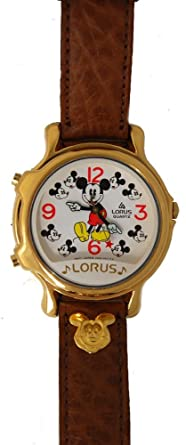 Mickey Mouse Lorus Musical Watch RCW002 Two Tunes