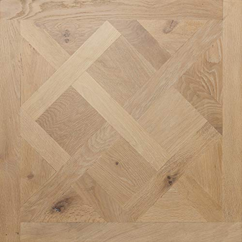 Prefinished Engineered European Oak Hardwood Floor, Versailles Panel 31-1/2