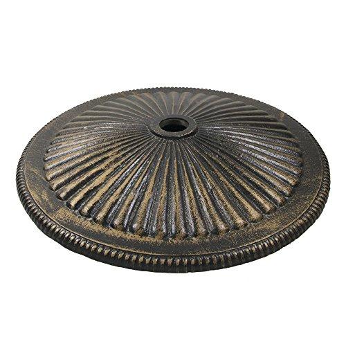50-lb Classic Cast Iron Umbrella Base in Bronze