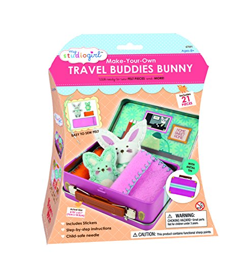 My Studio Girl Travel Buddies - Bunny (21 Pieces)