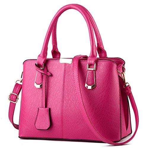 Medium Rosa B rosa Rosa para al Bolso hombro mujer Seaoeey x8v6CqS0ww
