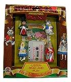 Vintage Alice In Wonderland Storybook Preschool Play Set Cassette [ 1988 ]