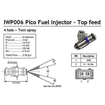 Magneti Marelli IWP006 Injector: Amazon.co.uk: Car & Motorbike on pico cable, pico with no equipment, pico electrical products, pico connector, pico distributors, pico eugene oregon, pico transformer,