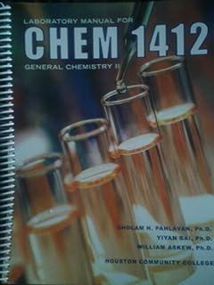 laboratory manual for chem 1412 general chemistry ii 2nd edition rh amazon com