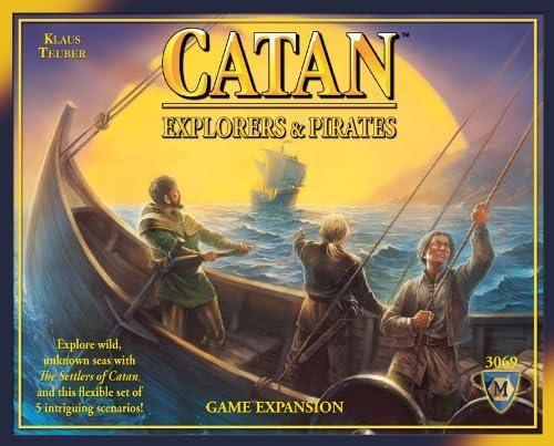 Catan: Explorers & Pirates Expansion 4th Edition by Mayfair Games: Amazon.es: Juguetes y juegos