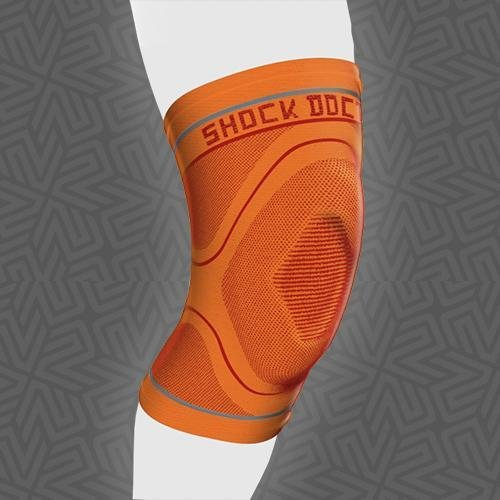 561923b465 Image Unavailable. Image not available for. Color: SHOCK DOCTOR 2065 PST Compression  Knit Knee Sleeve ...