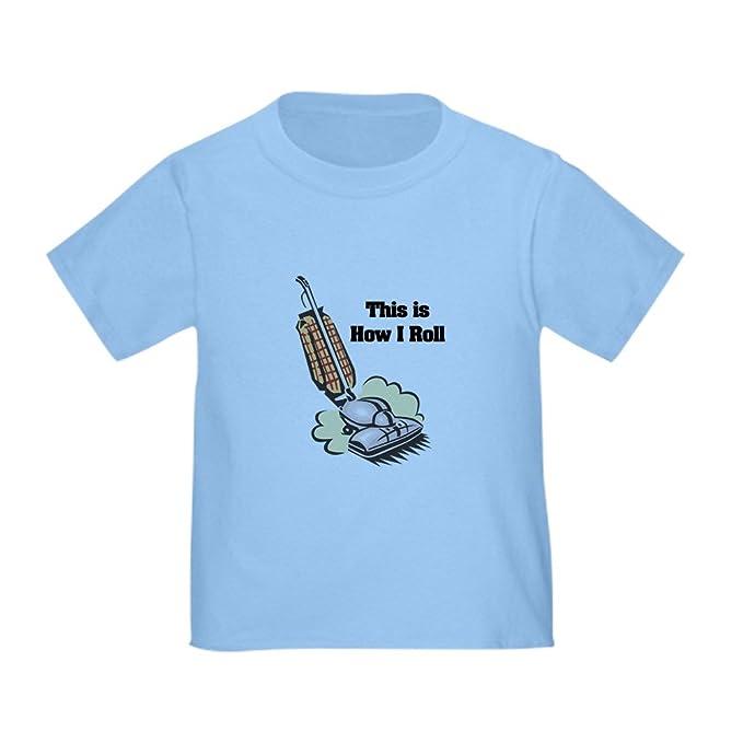 Amazon.com: CafePress – ¿Cómo I Roll (aspirador) bebé T ...