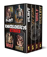 Saddle up with the Knuckleheads, America's most notorious vigilante biker gang, in this bundle of 4 full-length MC Romance novelsFlintOnce, I rode with the Knuckleheads Motorcycle Club - the baddest gang of vigilante bikers in the southwester...