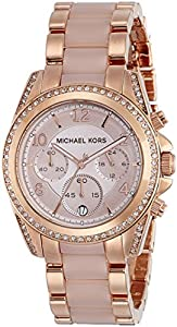 michael kors women 39 s blair two tone watch. Black Bedroom Furniture Sets. Home Design Ideas