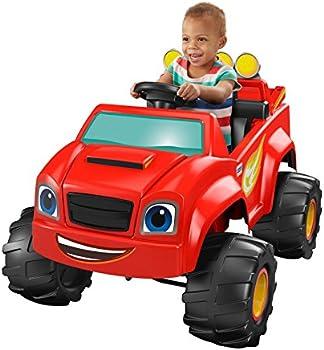 Fisher-Price Nickelodeon Blaze Monster Truck