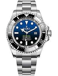 Sea Dweller Deepsea Blue Dial Oyster Bracelet Stainless Steel Mens 126660