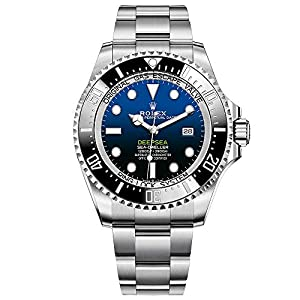 Best Epic Trends 51ELiGy6svL._SS300_ Rolex Sea Dweller Deepsea Blue Dial Oyster Bracelet Stainless Steel Mens 126660