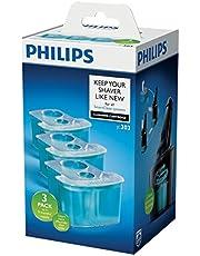 Philips Schoonmaakcartridge - Reinigt tot 10x beter dan water en verwijdert schuim en gel - Geschikt voor SmartClean-systemen - Voor 9 maanden - 3 stuks - JC303/50