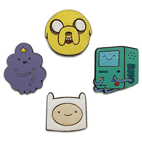 Adventure Time 4 Pin Set by Telestic Design