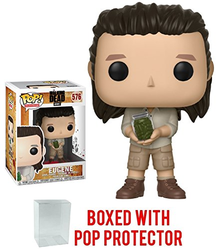 Funko Pop! TV: The Walking Dead - Eugene #576 Vinyl Figure (Bundled with Pop Box Protector Case)]()
