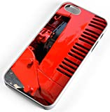 iPhone Case Fits iPhone 7 PLUS 7+ Farmall Red Tractor Grill Clear Plastic