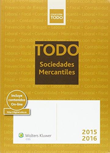 Descargar Libro Todo Sociedades Mercantiles 2015-2016 Aa.vv.