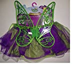 Disney Fairies Tinks Party Tutu and Wings Children Girls Costume