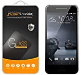[2-Pack] HTC One A9 Tempered Glass Screen Protector, Supershieldz Anti-Scratch, Anti-Fingerprint, Bubble Free, Lifetime Replacement Warranty