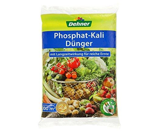Dehner Phosphatkali-Dünger mit Langzeitwirkung, 10 kg, für ca. 100 qm
