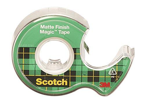 051131576346 - Scotch Magic(TM) Tape,  3/4 x 300-inches-Transparent-3 ct carousel main 2