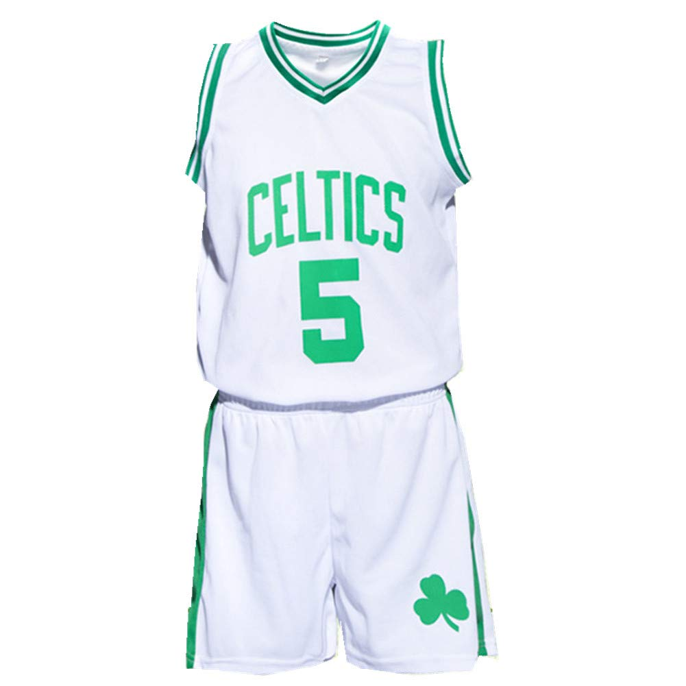 FTSUCQ Boys Basketball Jersey Sports Suits Polo Shirt Shorts