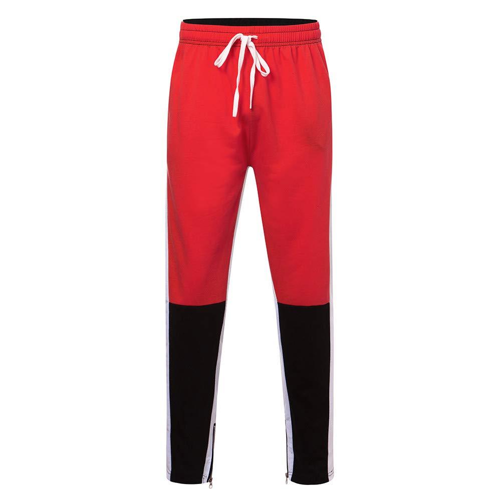 PASATO Fashion Men's Sport Jogging Fitness Pant Casual Loose Sweatpants Drawstring Pant