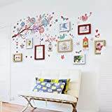 Photo Wall, Living Room Photo Wall, Picture Frame Wall, Living Room Background Photo Wall Decoration ( Color : 1# )