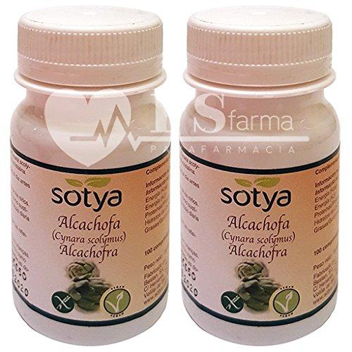 ALCACHOFA 500 mg. 2 x 100 Comp. SOTYA: Amazon.es: Salud y cuidado ...