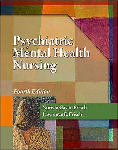 Psychiatric Mental Health Nursing Frisch Psychiatric Mental Health