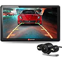 junsun 7 inch Car GPS Navigation Bluetooth 8GB with Rear view Camera FM MP3 MP4 256MB DDR/800MHZ North America Maps with Free Updates