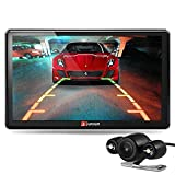 Image of junsun 7 inch Car GPS Navigation Bluetooth 8GB with Rear view Camera FM MP3 MP4 256MB DDR/800MHZ North America Maps with Free Updates