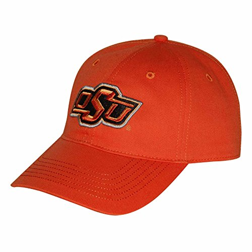 NCAA Oklahoma State Cowboys Epic Washed Twill Cap, Adjustable Size, Orange
