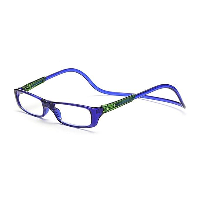 b5af1f9a61 GEMSeven Imán gafas de lectura colgante cuello: Amazon.es: Ropa y accesorios