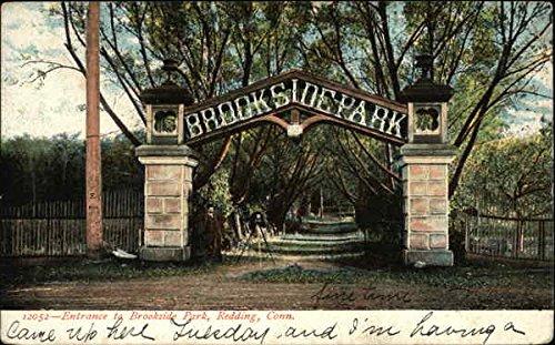 e Park Redding, Connecticut Original Vintage Postcard ()