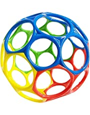 Infant Sensory Ball Easy Grasp Toy Sensory Teether Toy Soft Rubber Ball Toy Hand Shake Bright Starts Ball Pliable Grasping Child Touch Hand Ball for Infants Kids