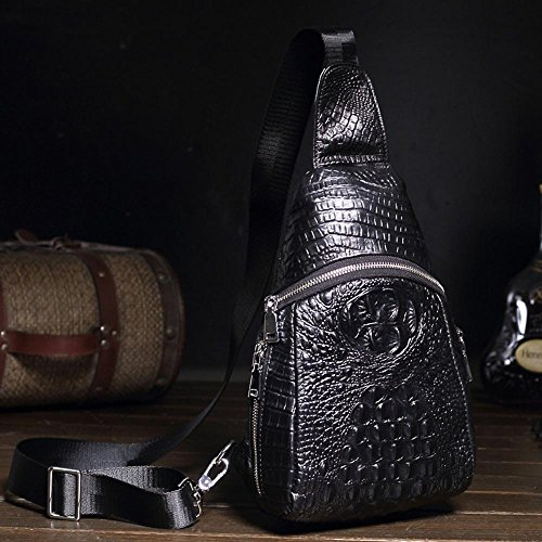 amp; Single School theft Leather Shoulder Bag Haixin Foot Waterproof Travel Man Anti wqPTvIA