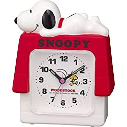 Rhythm Watch 4SE551MS03 Alarm clock Snoopy House R551