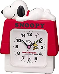 Rhythm Watch 4SE551MS03 Alarm clock Snoopy House R551