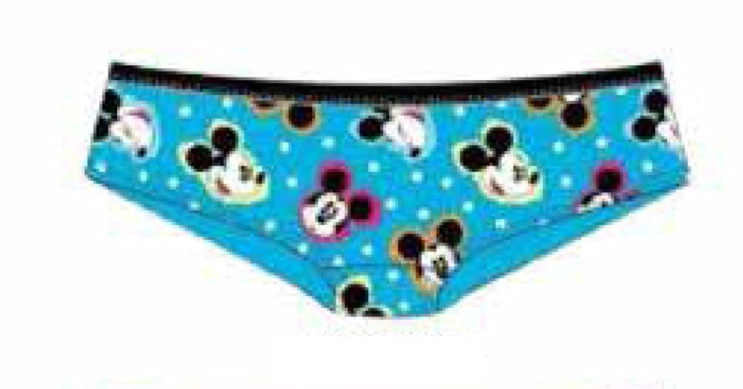 Disney Mickey Mouse Heads Blue Pantie Missy Sizing