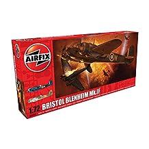 Airfix A04059 Bristol Blenheim MK IF Military Plastic Model Kit (1:72 Scale)