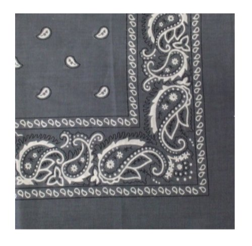 Paisley Bandanas 100% Cotton By The Dozen, Head Wrap 22 x 22 - All Colors Available Here