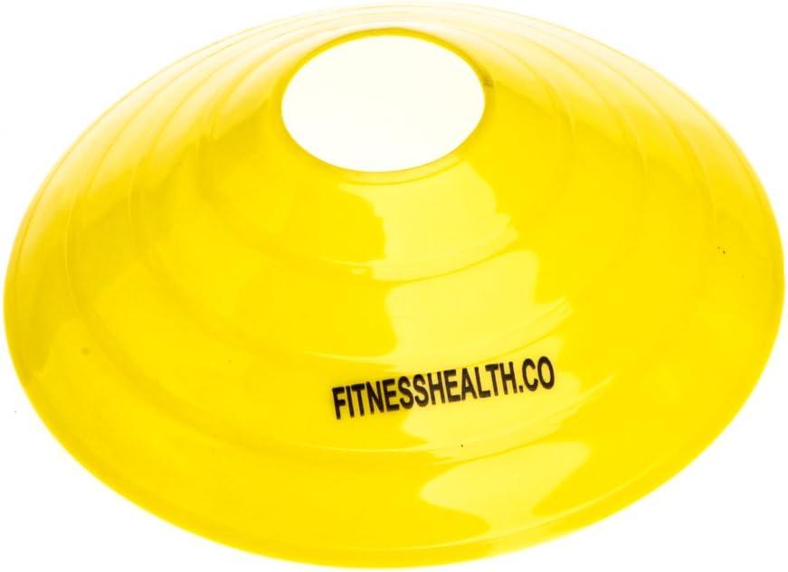 Para f/útbol rugby entrenamiento de equipo ejercicios de agilidad Marcador FH tipo cono de platillo hockey