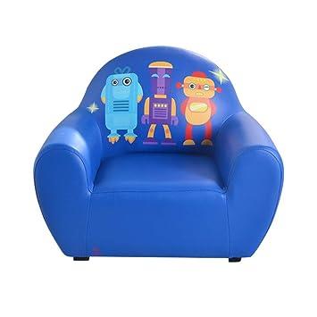 Mini Sofá para NiñOs Azul, Nordic Baby Kids Sofá para La ...