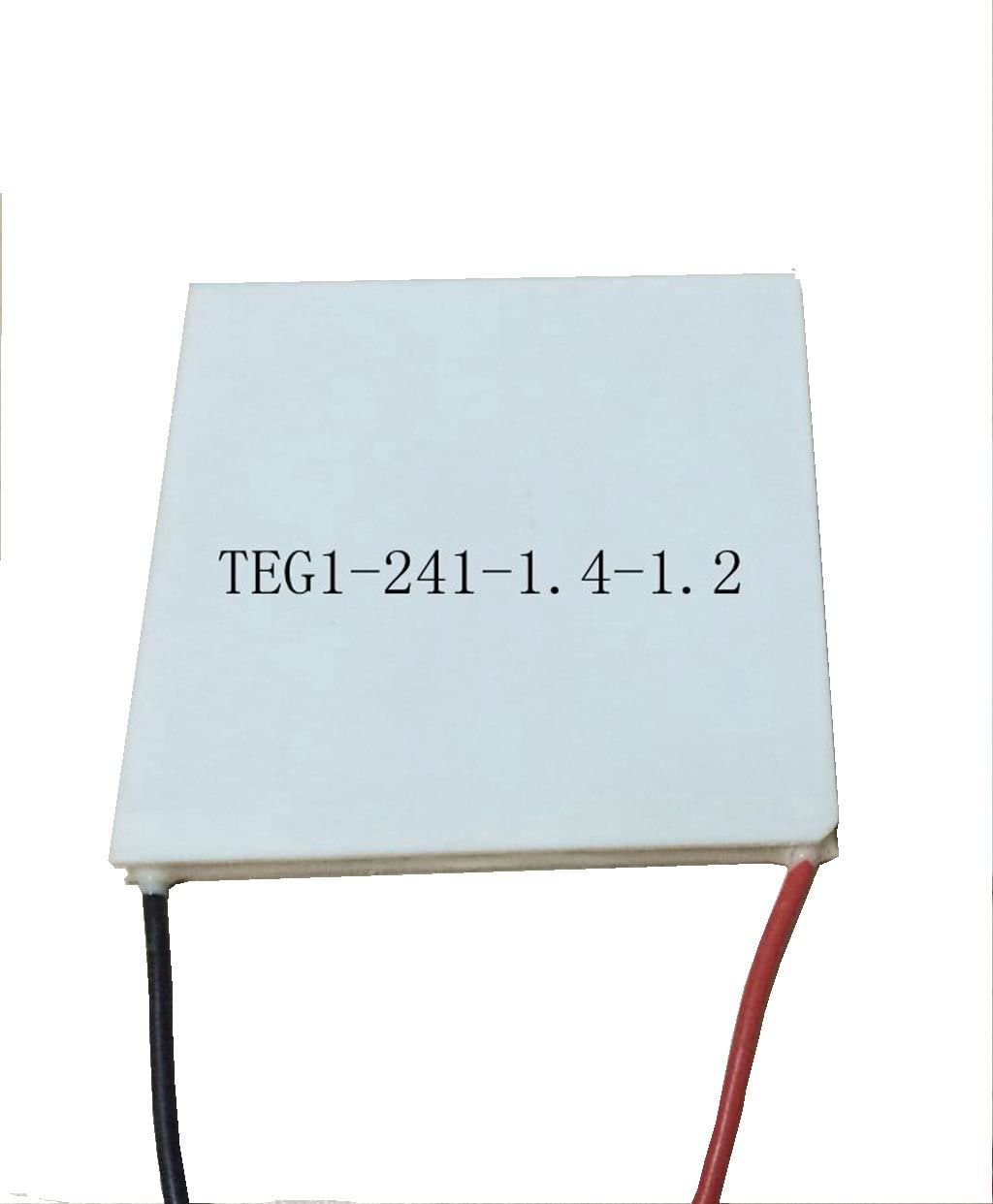 BXQINLENX 55x55MM 7V 1.25A TEG1-241-1.4-1.2 Thermoelectric Power Generation Peltier Module LYSB011IJW6BC-ELECTRNCS