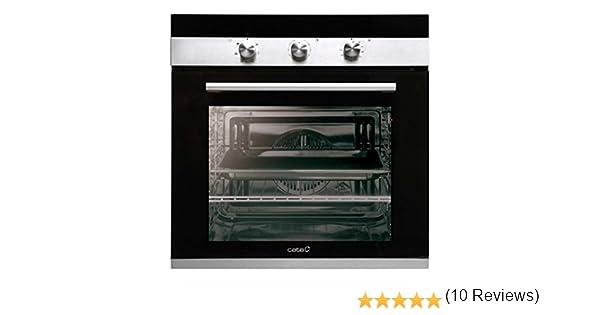 Cata CM 760 AS BK Horno multifunción, 2400 W, 50 litros, Acero Inoxidable, Negro: 231.73: Amazon.es: Grandes electrodomésticos